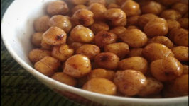Edible Gift ideas  Honey Cinnamon Roasted Chickpeas