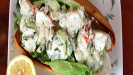 Lunch - Herbed Lobster Rolls