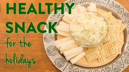 Holiday Party Recipe: Chive White Bean Dip with Thrive Algae Oil