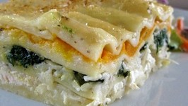 Chicken And Spinach Lasagne