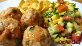 Mexican Meatballs With Salsa Salad