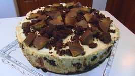 Betty's Reese's Cup Brownie Cheesecake