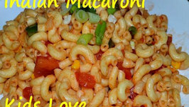 Indian Macaroni- Easy and Quick Old School Time - Kids Favorite