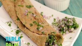 Whole Moong Dosa (Healthy Heart Snack)