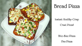 Bread Pizza - Crispy-Healthy Crust Instant Pizza - Alternatives to Pizza
