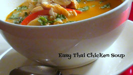 Easy Thai Chicken Soup  Collab Video with Kravings Food Adventures