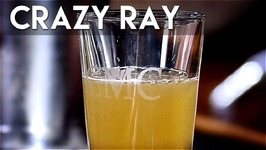 Crazy Ray Shooter With Banana Liqueur