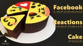 Facebook Reactions Cake
