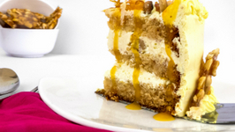 Butterscotch Cake Recipe - Cooker Cake - Eggless Baking Without Oven