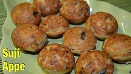 Suji Appe Sooji Paniyaram Healthy South Indian Anytime Snack  by CK Epsd. 338