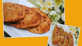 Erachi Pathiri (Stuffed bread with meat)