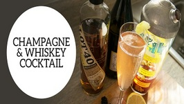 New Years Party Recipe: Champagne and Whiskey Cocktail
