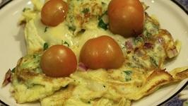Breakfast/ Fluffy Egg Omelette