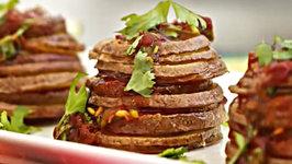 Chipotle Potato Stackers - Tailgating Recipe