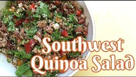 Quick Southwest Quinoa Salad for Two