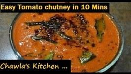 Tomato Chutney In 10 Minutes