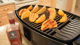 How to Cook Grilled Orange and Cantaloupe with Napa Valley Cherry Cabernet Caramel