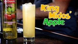King Midas' Apple Cocktail