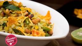 Poha Recipe - kanda Anda Egg Poha  Indian Popular Breakfast Recipe