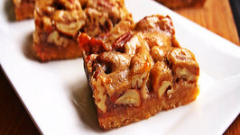 How to Make Pecan Bars with Shortbread