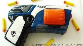 How to Make a Nerf Gun Cake