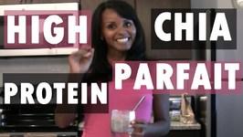 High Protein Chia Parfait