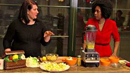 Creamy Russian Salad- Vegano Italiano Festival Tasting and Webcast Segment 2