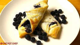 Easy Blueberry Pastries