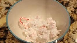 Christmas/Cool Peppermint Fluffer