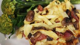 Ham And Mushroom Pasta Bake Recipe