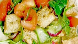 How to Make Bread Salad