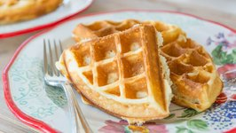 My Favorite Crispy Waffles Recipe - Breakfast and Brunch Food