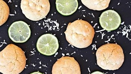 Dessert Recipe: White Chocolate Key Lime Coconut Cookies