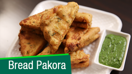 Bread Pakora Recipe  Easy To Make Snack Recipe  Ruchi's Kitchen
