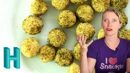 Quinoa Ballz And Pumpkin Pie Potato Chips
