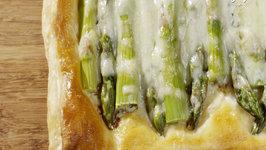 How to Make Asparagus Gruyere Tart