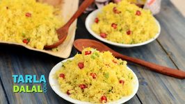 Amiri Khaman Quick and Simple Gujarati Sev Khamani Recipe