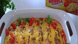 Cheesy Chicken Casserole - VELVEETA Treasure Chest Challenge