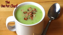Potato, Pea And Bacon Soup