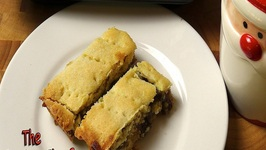 Fruit Mince Shortbread Slice - Christmas