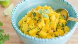 Fresh Mango Salsa Recipe - How to Make Mango Salsa
