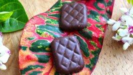 No-Bake Healthy Chocolate Puffed Quinoa CRUNCH Bars