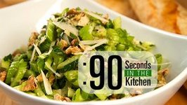 90 Second Parmesan Celery Salad