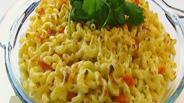Betty's Spicy Queso Blanco Macaroni and Cheese - Super Bowl