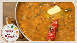 Dal Fry With Tadka - Homemade Punjabi Dal - Indian Recipe By Archana In Marathi