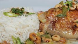 How To Make Chicken Tray Bake With Maple Syrup And Hazelnuts
