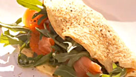 Smoked Salmon and Horseradish Omelette