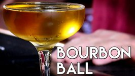 The Bourbon Ball -Modified With Spiced Cherry Bitters