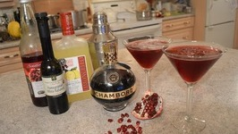 How To Make Pomegranate Lover's Cocktails