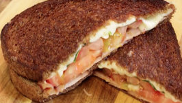 Grilled Cheese Sandwich - With Lomo (Cured Pork Loin)